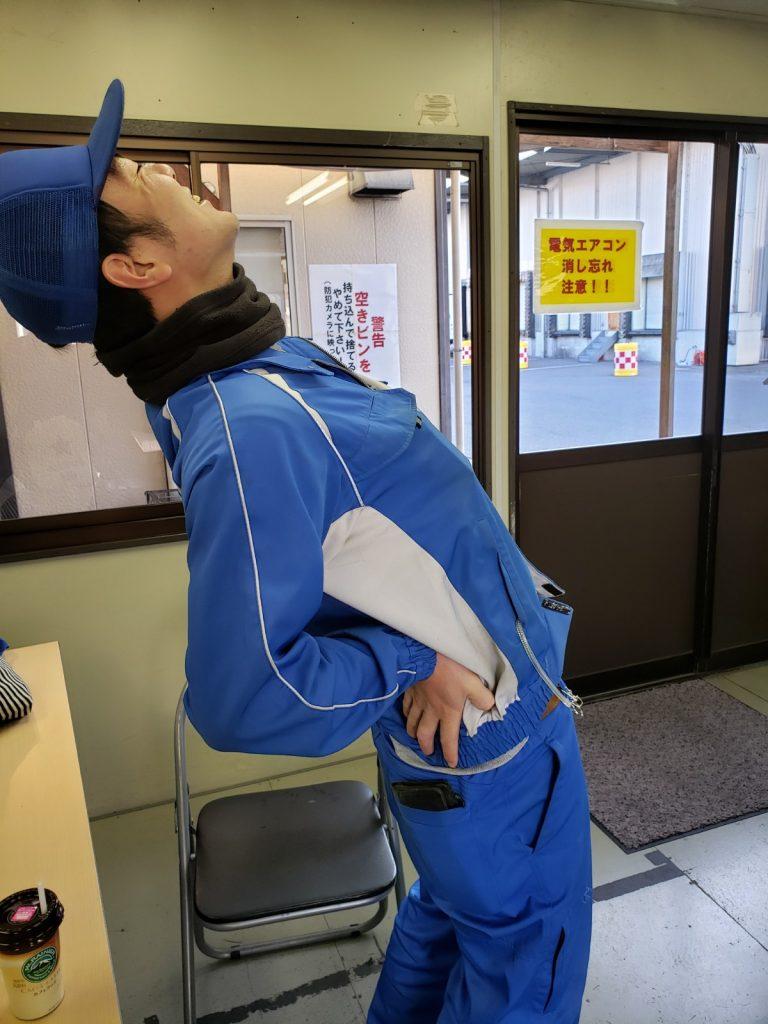 物流現場での腰痛対策