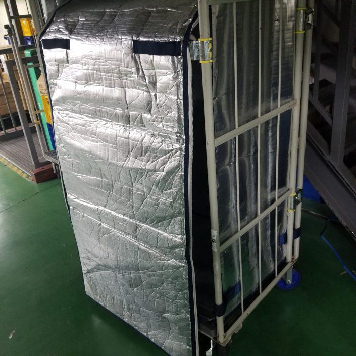 株式会社低温の冷蔵配送に使用するジッパー