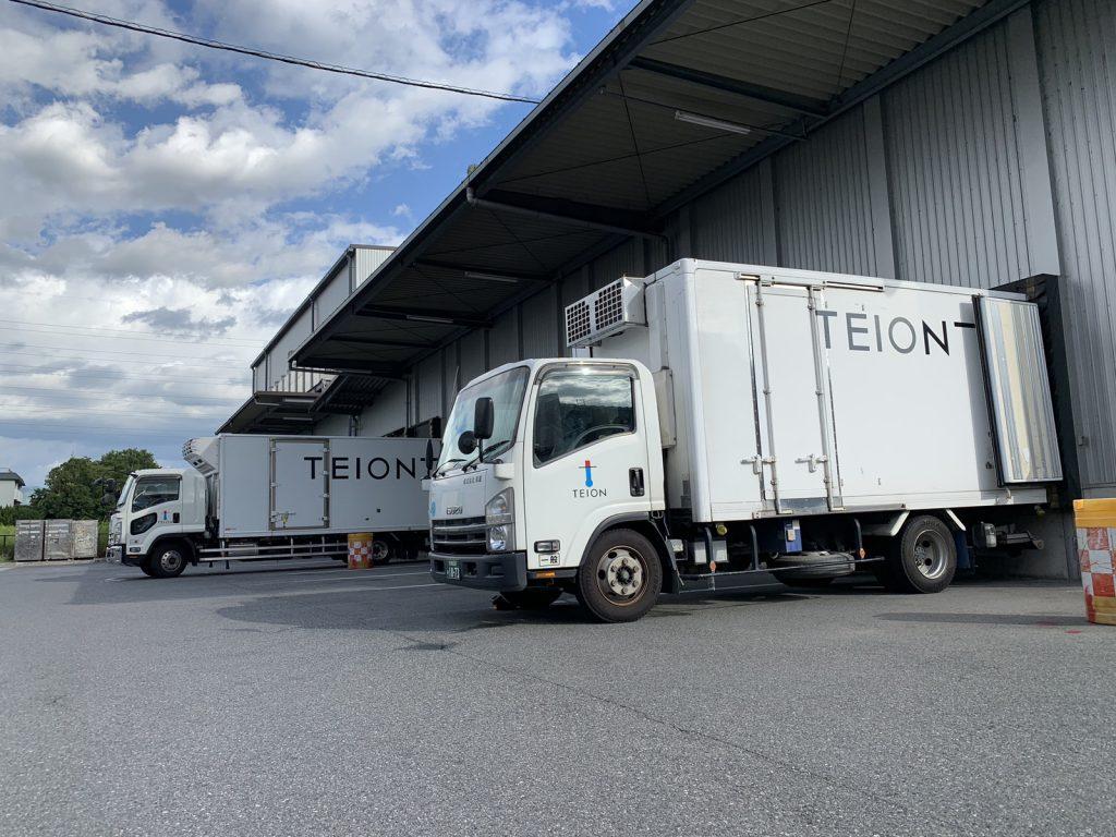 関西中心に冷凍、冷蔵車両が運行してます。