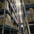 自動倉庫内部の商品を保管しています